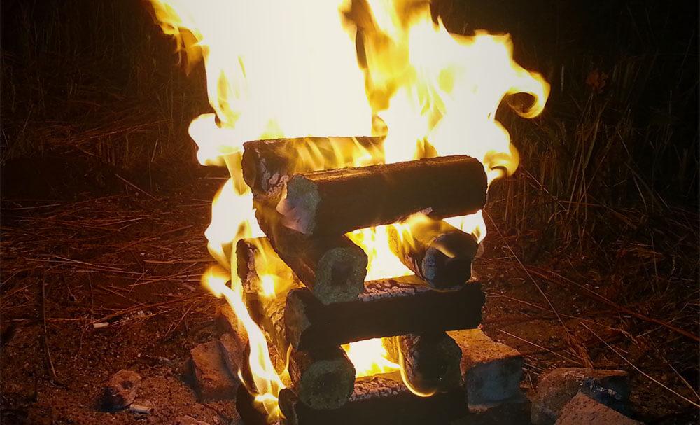 Как перейти с газа на топливный брикет